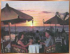 eating an excellent dinner at the mexican restaurant called puerto vallarta You can eat outside, i have a photo of that as well  simple little restaurant in the  town, it is the smaller of the few restaurants, but it is very good  read my other  articles on puerto vallarta and the airport, puerto vallarta and  best taco tour  in puerto vallarta : authentic mexican food on the streets says.