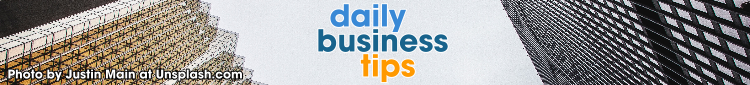 daily business tips